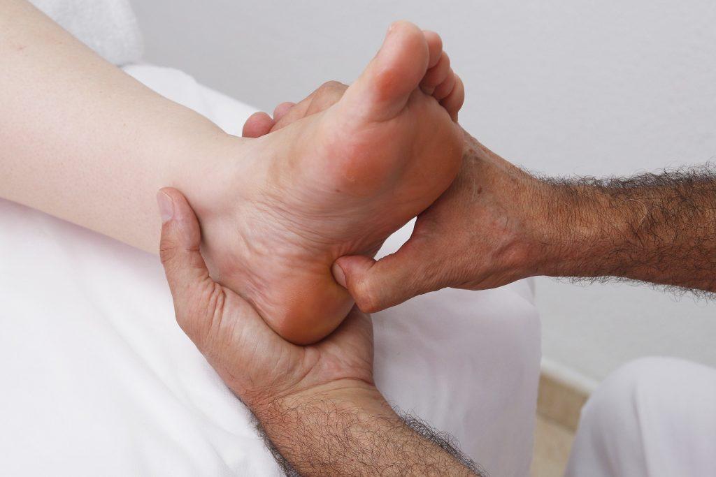 Voetreflex massage bij Corpes